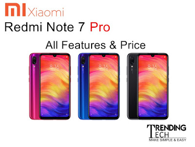 Redmi Note 7 Pro all features