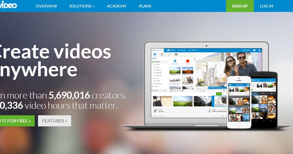 影片剪輯雲端中文版 WeVideo 替代Movie Maker教學