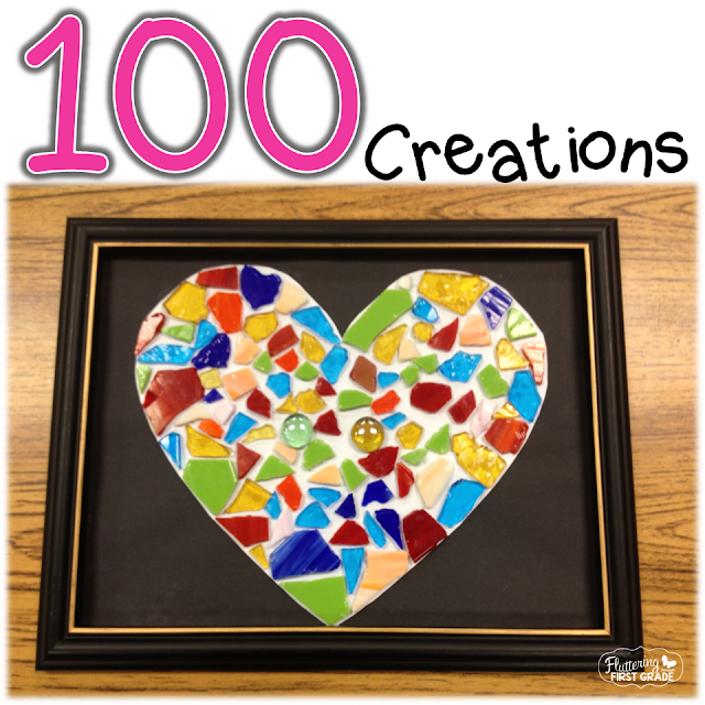 100th Day of School creations