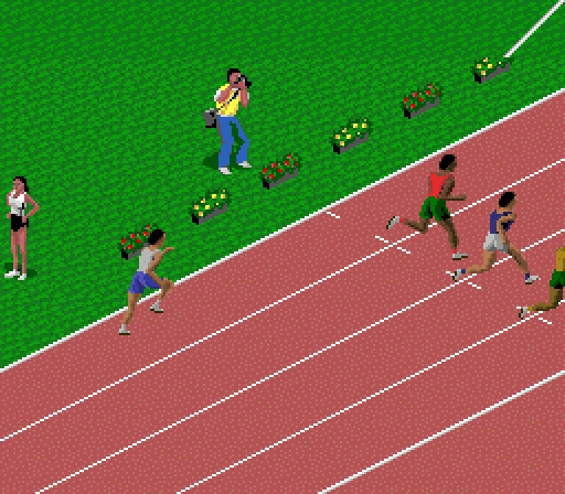 100m Sprinting is a good place to start as it involves the simplest game play. Four runners race simultaneously, with the winner being the first over the ...