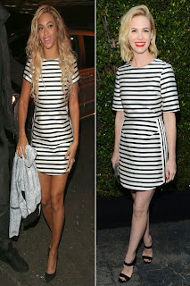 Beyonce vs. January Jones