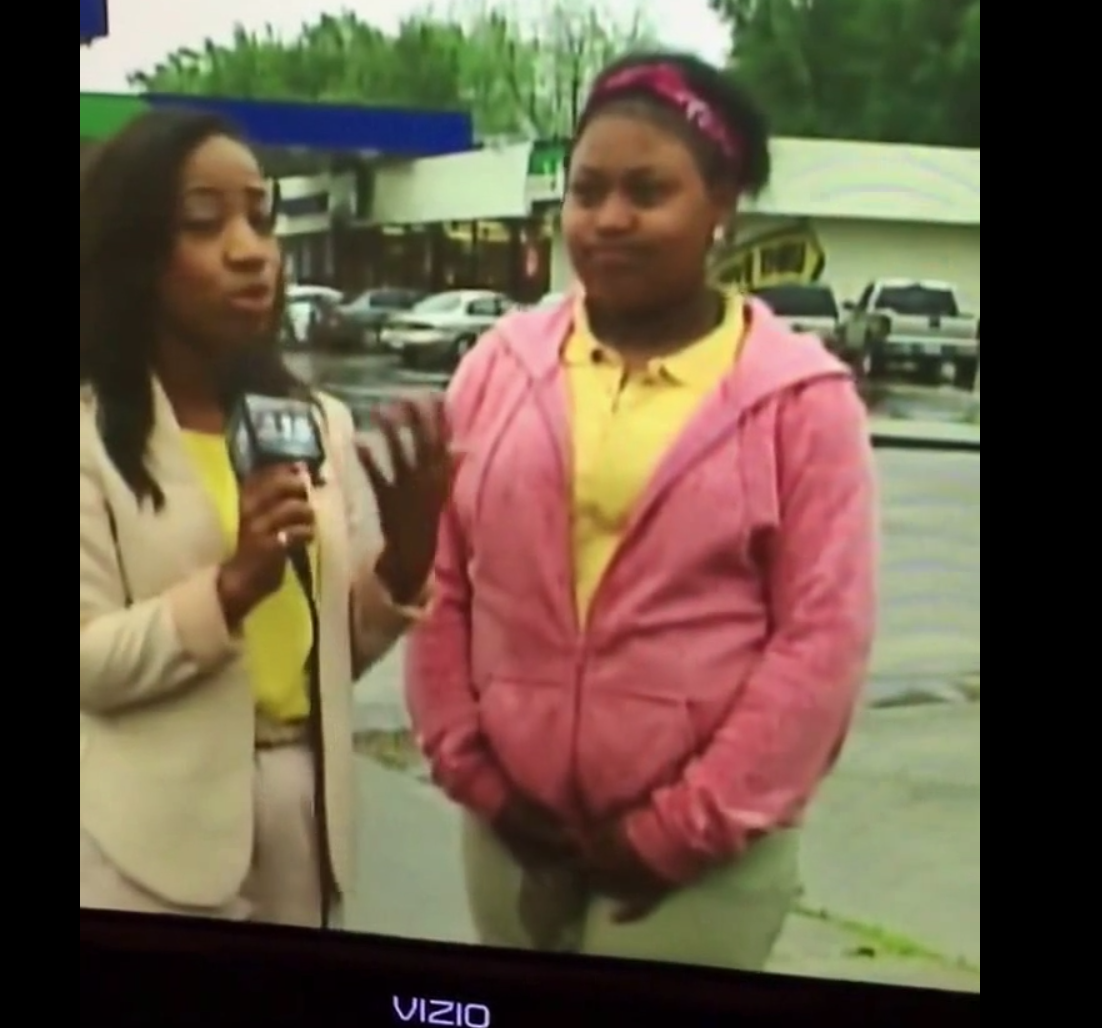 Girl Pees Herself During A Live Television Interview [WATCH VIDEO]