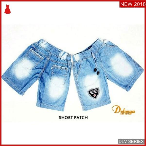 DLV23S36 Short Pant Anak Jeans Celana Pendek Balita Murah BMG