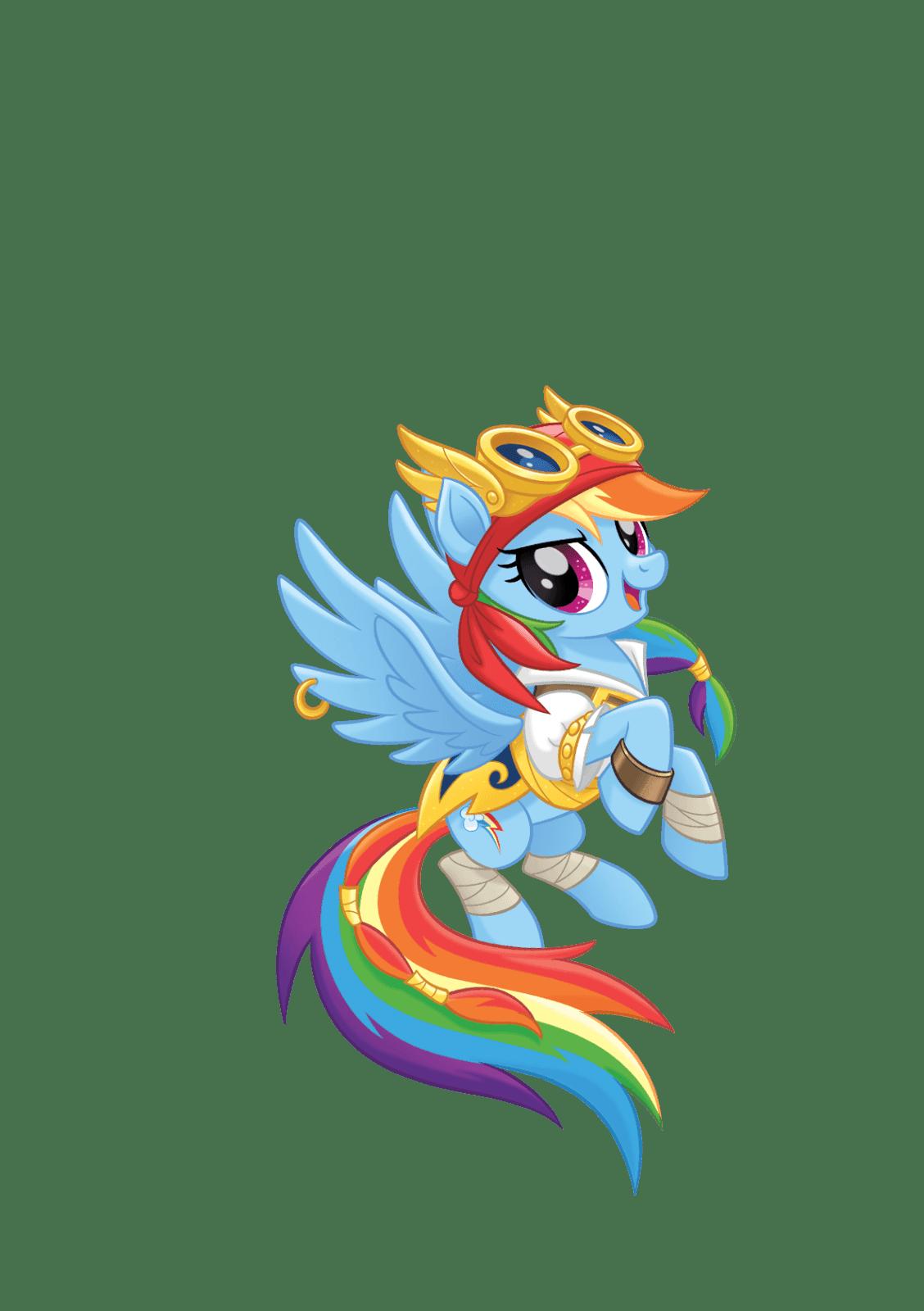 MLP Movie Vector Pirate Rainbow Dash