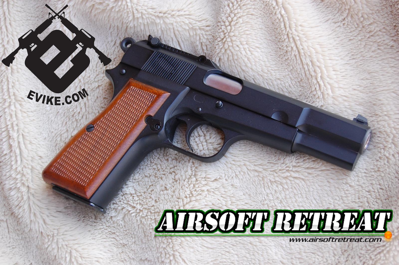 WE Browning Hi-Power GBB Pistol | Booligan's Airsoft Reviews