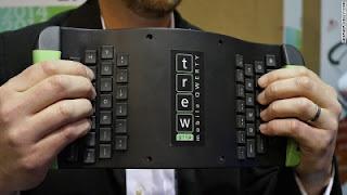 Keyboard unik TrewGrip CES 2014