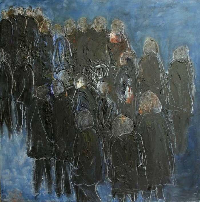 Британский художник. Lesley Oldaker