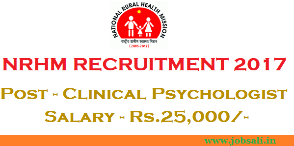 nrhm madhya pradesh vacancies, mp health vacancy, psychology careers