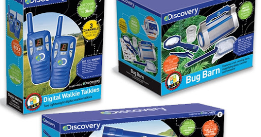 Giveaway #646 : Win a Discovery toy bundle to explore nature! - closing date 2/10