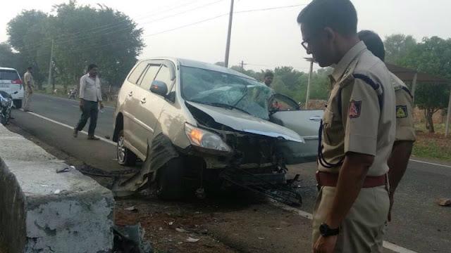 Sidhu Nyamagounda accident