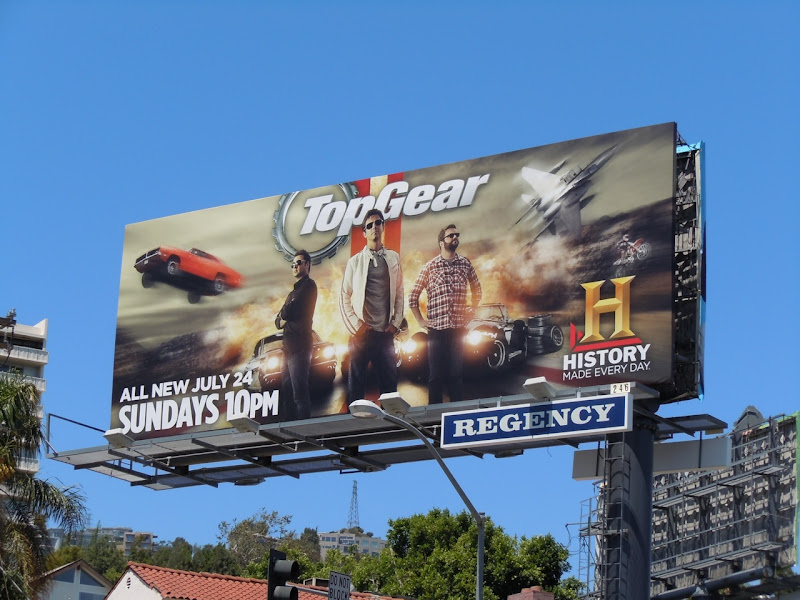 Top Gear season 2 USA billboard