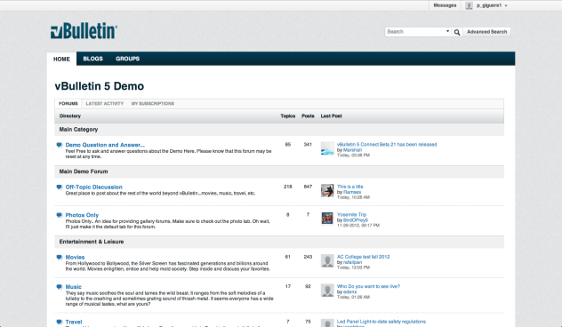 Download Latest vBulletin Forums PHP Script Full Version Stable