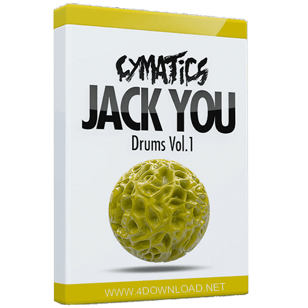 Cymatics - Jack You Drums Vol 1