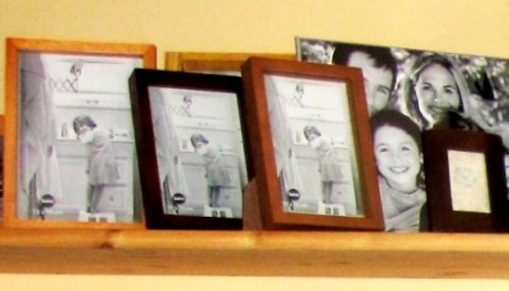 Marcos fotos madera distintos tonos