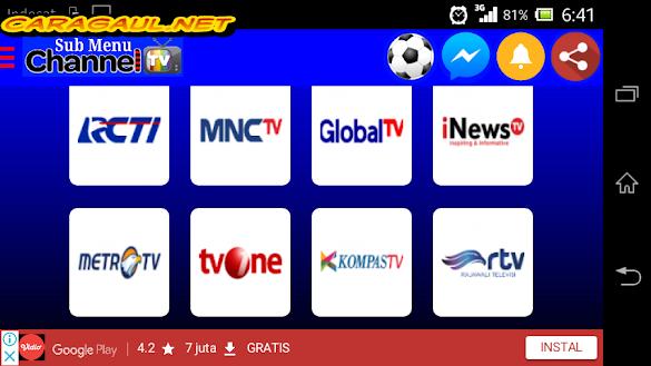 Aplikasi Nonton Streaming Bola Liga 1 Gojek Traveloka 2018