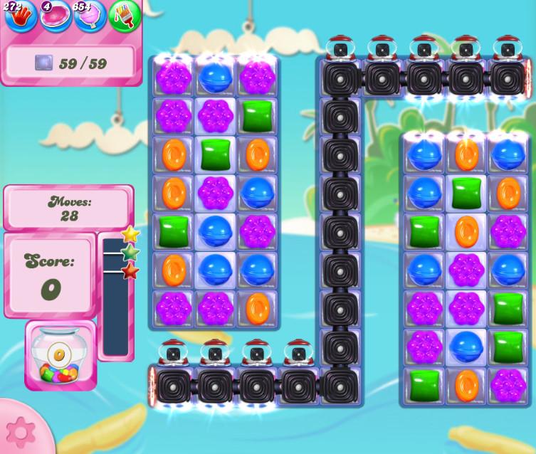 Candy Crush Saga level 2679