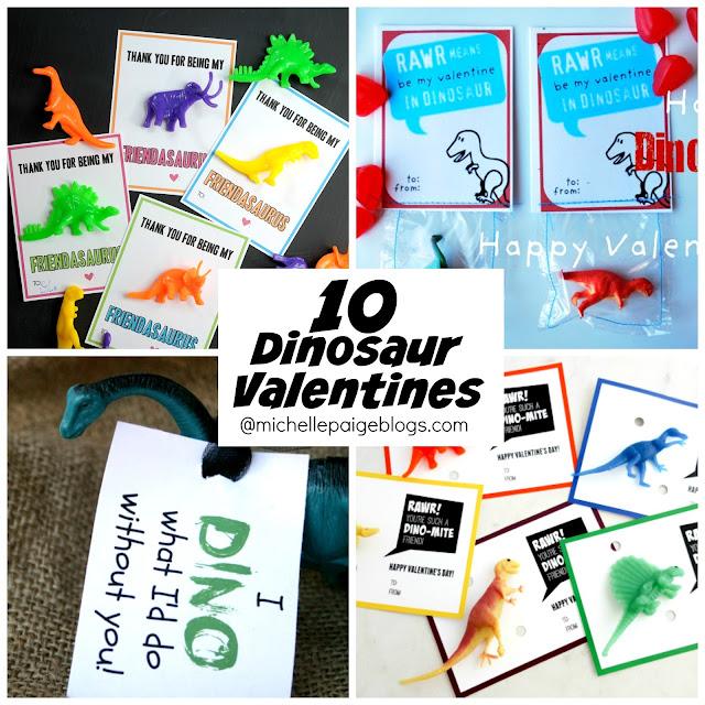 DIY Dinosaur Printables @michellepaigeblogs.com