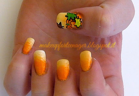 Nail art step by step: Autumn Nails