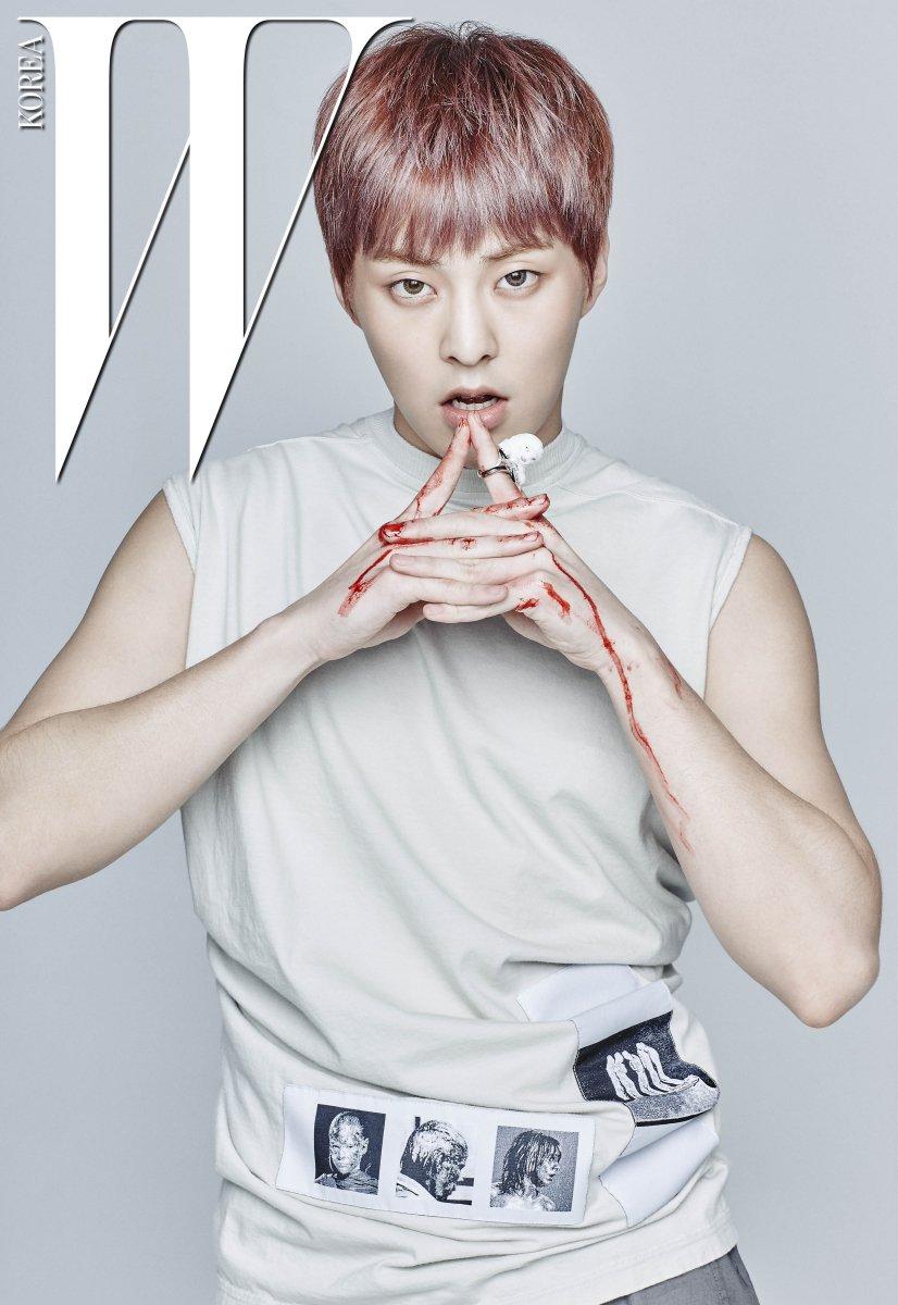 Xiumin Sexy EXO Xiumin Bares his A...