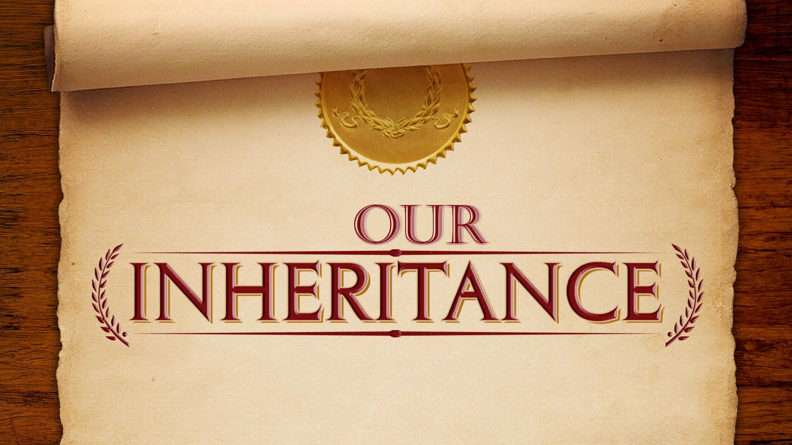 Inheritance: Grace And Peace