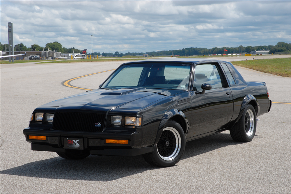 video 1987 buick gnx 3 sells for 115 000 at auction bob 39 s blitz. Black Bedroom Furniture Sets. Home Design Ideas