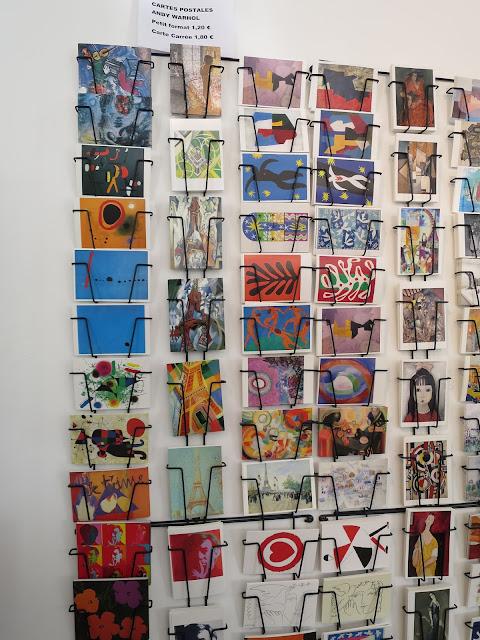 boutique du musée d'art moderne de Paris
