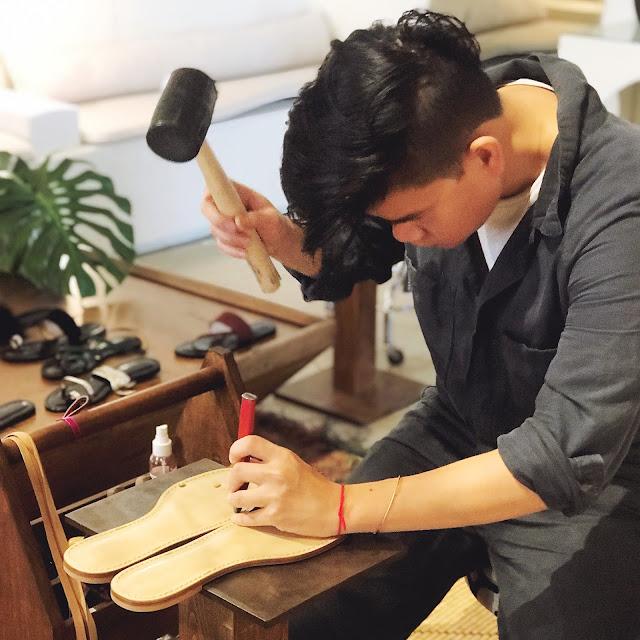 amanu sandal maker