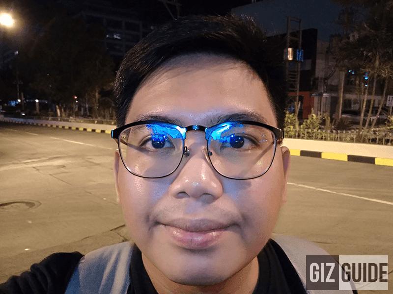 Selfie night flash