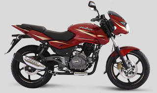 Bajaj Pulsar 180 Dyno Red color