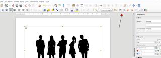 Barra de herramientas y botones en LibreOffice Writer