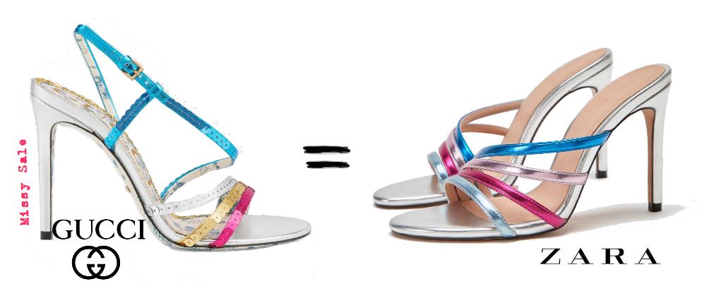 62d63d19024 Missy Sale: Clon fashion. GUCCI vs. ZARA. LOS TITANES SE ENFRENTAN