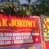 Karangan Bunga Untuk Jokowi Nyasar Ke Balai Kota