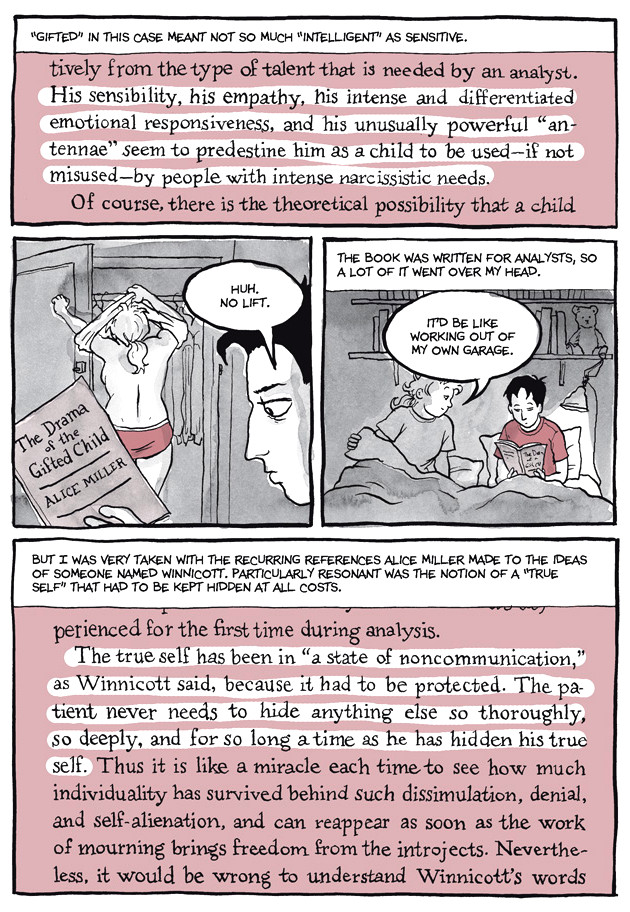Page 16, Chapter 2: Transitional Objects from Alison Bechdel's graphic novel Are You My Mother