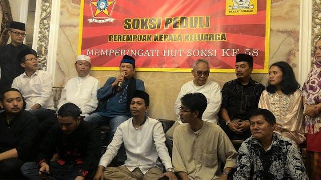 SOKSI Sebut Partai Golkar Sedang Diteror dan Diintimidasi