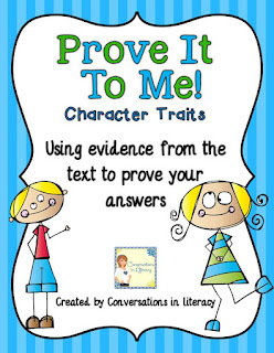 Using text evidence to prove answers