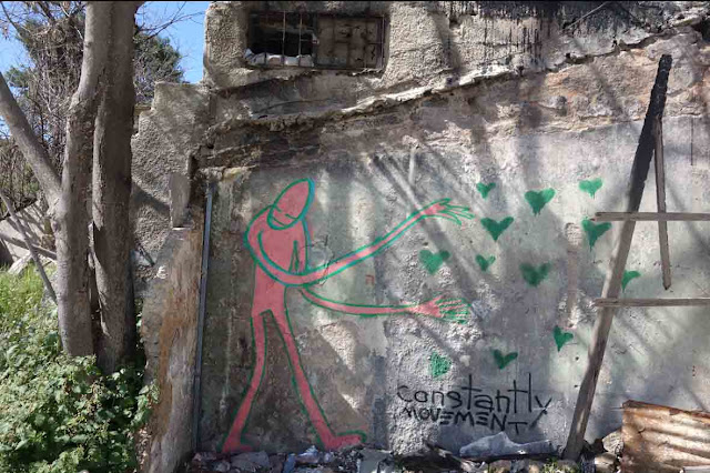 Street Art - Jerusalem - Constantly Movement