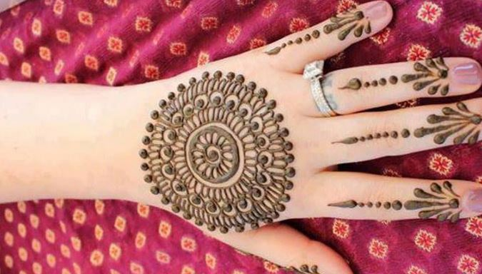 Simple Mehndi Designs Step By Step Beauty Health Fashion