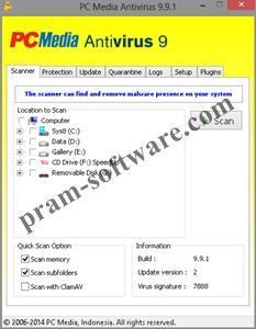 Screenshot PCMAV