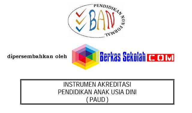 Download Instrument Akreditasi BAN-PAUD Format PDF Terbaru Lengkap dan Gratis