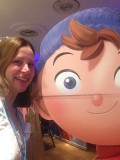SeasideBelle selfie with Noddy