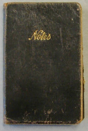 Black notebook - National Archives  (KV 2/27) (Photo copyright G.K. Jakobs)