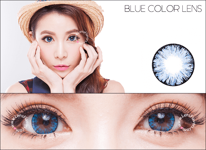 eos ice blue circle lenses