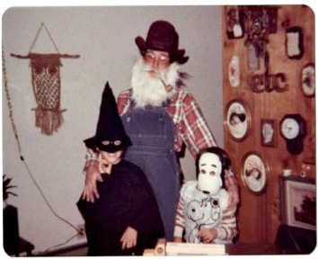 Halloween in the 1970's