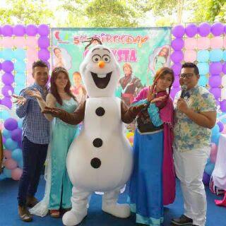 Badut Ultah karakter Frozen, Kostum Princes, Princes sofia, MC formil, mc ultah