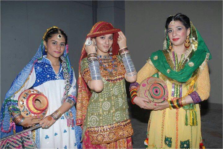 Hot Girls From Pakistan, India And All World Cute Punjabi -7536