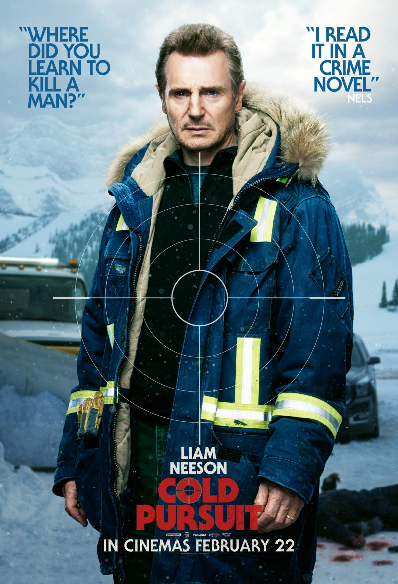 cold pursuit liam neeson poster