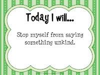 Kindness task card
