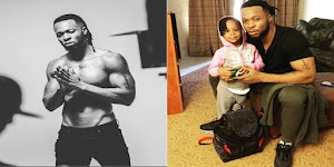 Flavour Pens Down Sweet Words As He celebrates daughter's 3rd birthday