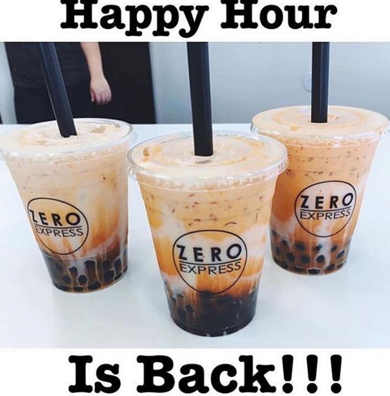 AUG 22 - 28:  BOGO FREE COFFEE AND TEAS @ ZERO EXPRESS - CSUF & CSULB