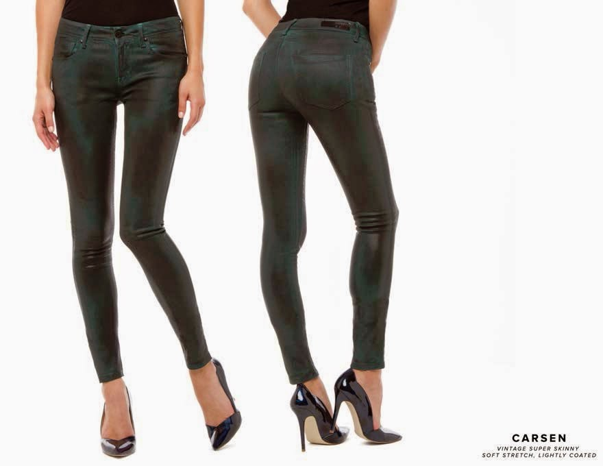 Soft Stretch Jeans Lightly Coated